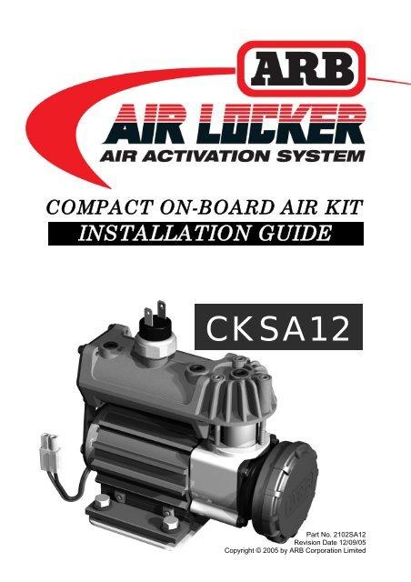 (CKSA12) Installation Guide. - Pirate4x4.Com