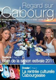 Regard sur Cabourg Automne 2011