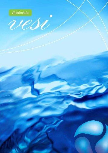 Välttämätön vesi -julkaisu - Vesilaitosyhdistys