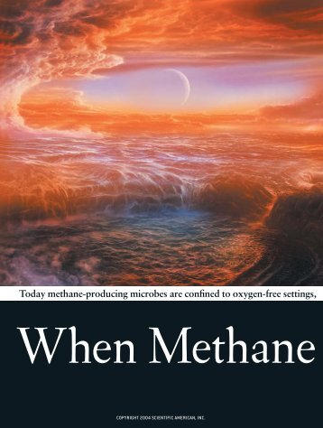 When Methane Made Climate - Section of Plant Biology