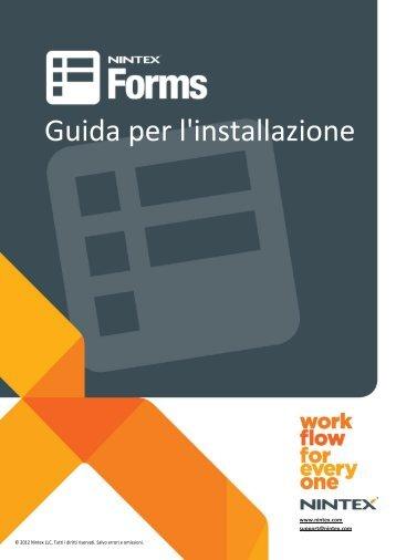 Guida per l'installazione