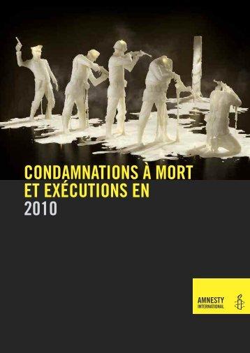 Télécharger le rapport (60 pages) - Amnesty International Schweiz