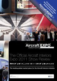 The Official Aircraft Interiors Expo 2011 Show Review