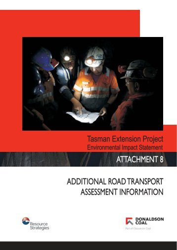 Attachment 8 - Additional Road Transport Assessment Information