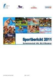 Schwimmclub VAL BLU Bludenz