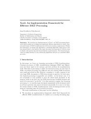 Xord: An Implementation Framework for Efficient XSLT Processing