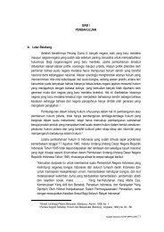 BAB I - Badan Pembinaan Hukum Nasional