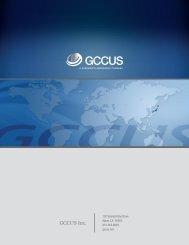 GCCUS Fact Sheet - Greenwich AeroGroup