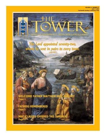 July 07, 2013 - St. Thomas More Catholic Church