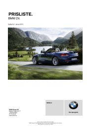 Last ned. Gyldig prisliste for BMW Z4 Roadster.