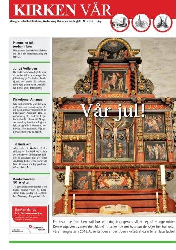 kirken vår 2 -2012 - Skedsmo kirkelige fellesråd