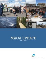 MACA Update 2012 - Department of Municipal and Community ...