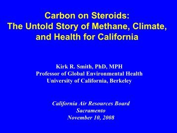 Carbon on Steroids: The Untold Story of Methane, Climate, and ...