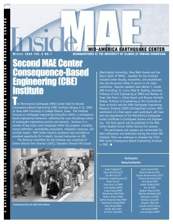 B ased Engineering - Mid-America Earthquake Center
