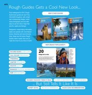 Rough Guides Gets a Cool New Look... ... But Still Tells It Like It Is