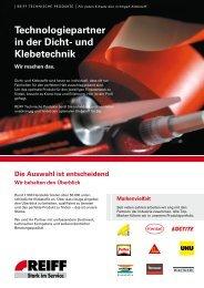 Technologiepartner in der Dicht- und Klebetechnik - Roller Belgium