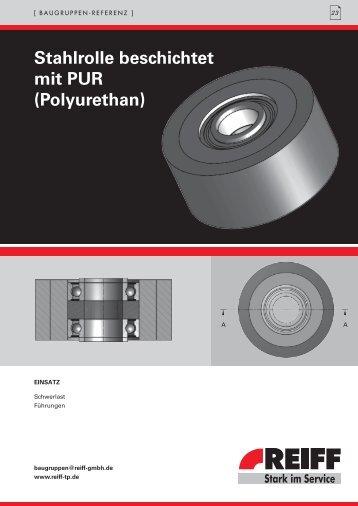 stahlrolle beschichtet mit PUR (Polyurethan) - REIFF Technische ...