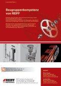 stahlrolle beschichtet mit PUR (Polyurethan) - REIFF Technische ... - Seite 2