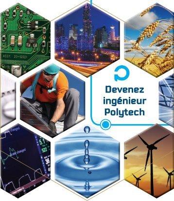 Télécharger la brochure - Polytech'Savoie - Université de Savoie