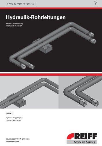 Hydraulik-Rohrleitungen - REIFF Technische Produkte