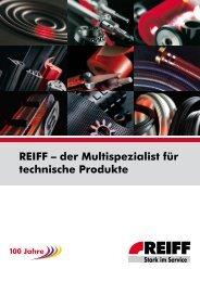Stark im Sortiment 140.000 Produkte - REIFF Technische Produkte