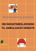 Branchevejledning om indsatsbeklædning til ambulancetjeneste - Page 2