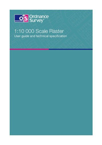 1.1 Mb pdf: 1:10 000 Scale Raster user guide and ... - Digimap