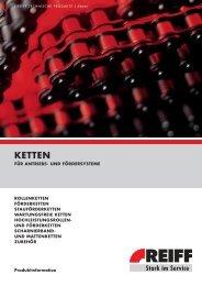 Ketten-Leitfaden - REIFF-Gruppe