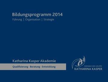 Zum Download - Katharina Kasper Akademie