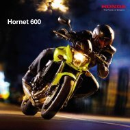 Hornet 600 - Honda