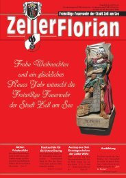 FLORIAN 80_Dezember 2008 - Freiwillige Feuerwehr der Stadt Zell ...