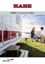 KABE husvagnskatalog 2011