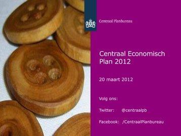 """[PDF] Presentatie """"Centraal Economisch Plan 2012&quot"""