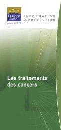 Les traitements des cancers - Pataclope83.com