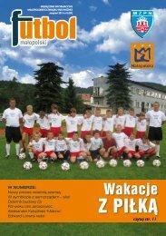Z PIŁKĄ - do strony głównej - Małopolski Związek Piłki Nożnej