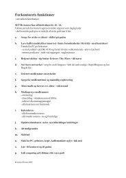Forkontorets funktioner - Senior Erhverv Danmark