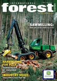 Issue 1 - International Forest Industries (IFI)