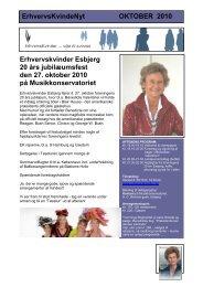 ErhvervsKvindeNyt OKTOBER 2010 - Foreningen af Erhvervskvinder