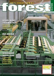 Issue 17 - August 2010 - International Forest Industries (IFI)