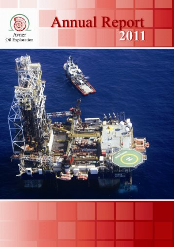 Avner Oil - Annual Report 2011 - Delek Energy Systems