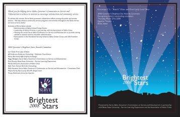 Stars Brightest - Serve Idaho