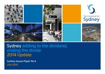 Issues Paper 4 Adding the Dividend, Ending the Divide 2014 Update FINAL