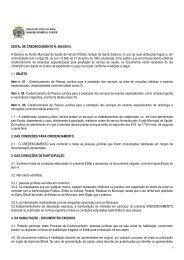 EDITAL DE CREDENCIAMENTO N - AMMOC