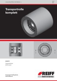 transportrolle komplett - REIFF Technische Produkte