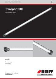 transportrolle - REIFF Technische Produkte