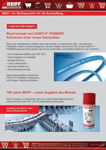 unser Angebot des Monats - REIFF Technische Produkte