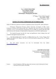 EOIs - Performance Management Division