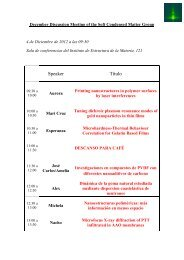 November Discussion Meeting of the Soft Condensed Matter Group