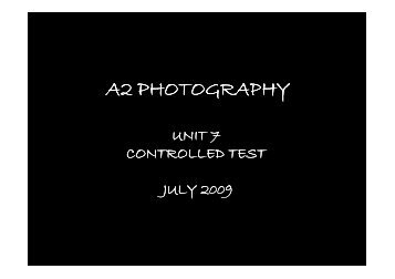 A2 PHOTOGRAPHY