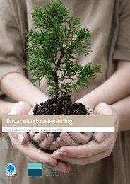 Privat eierskapsberetning 2012 - Menon - Business Economics